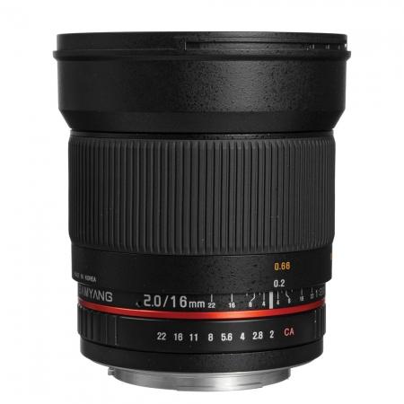Samyang 16mm F2.0 Sony RS125005953