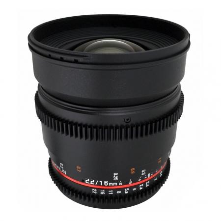 Samyang 16mm T2.2 Micro 4/3 VDSLR - Cine Lens