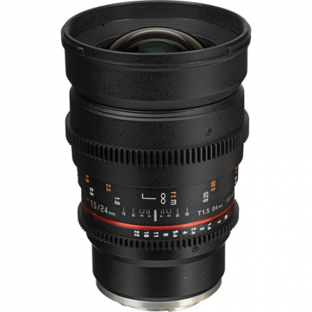 Samyang 24mm T1.5 Sony E VDSLR - Cine lens