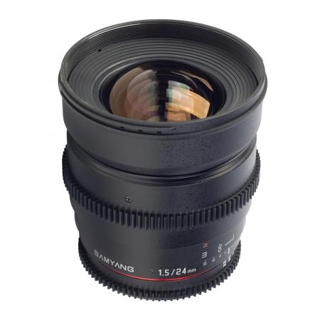 Samyang 24mm T1.5 Sony VDSLR - Cine Lens