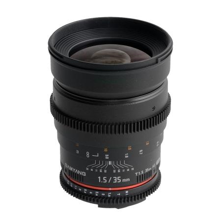 Samyang 35mm T1.5 Canon VDSLR RS1052611-1