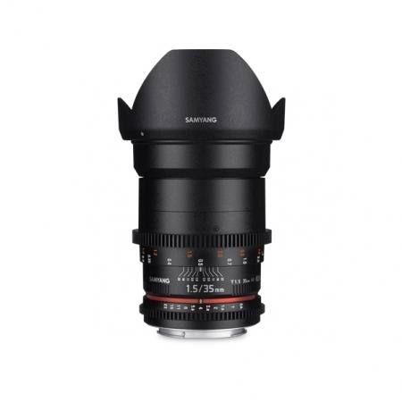 Samyang 35mm T1.5 VDSLR AS UMC II - Fujifilm X