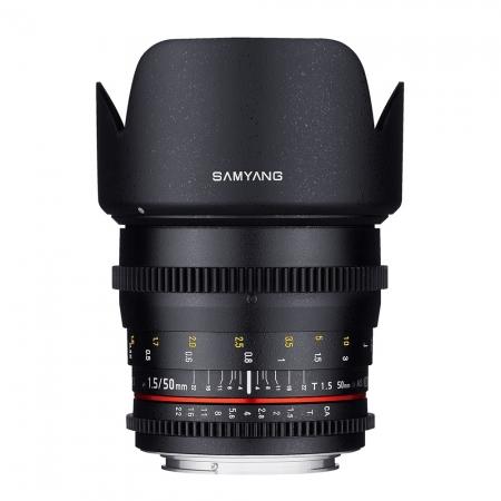 Samyang 50mm T1.5 AS UMC VDSLR - montura Canon