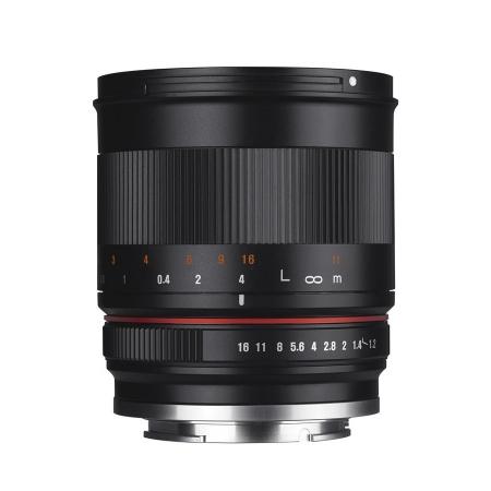 Samyang 50mm f/1.2 - montura Fuji X negru