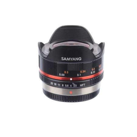 Samyang 7.5mm f3.5 Fish Eye pt. Micro 4/3 -SH7262-6