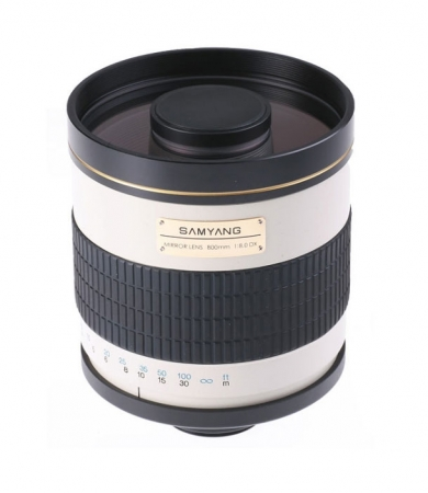 Samyang 800mm F/8.0 Mirror montura T f manual RS46208664-2