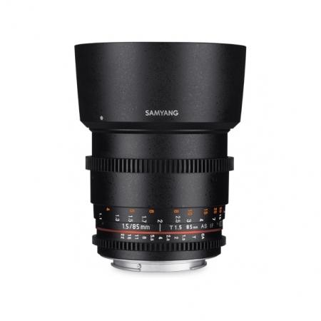 Samyang 85mm T1.5 VDSLR AS IF UMC II - Fujifilm X