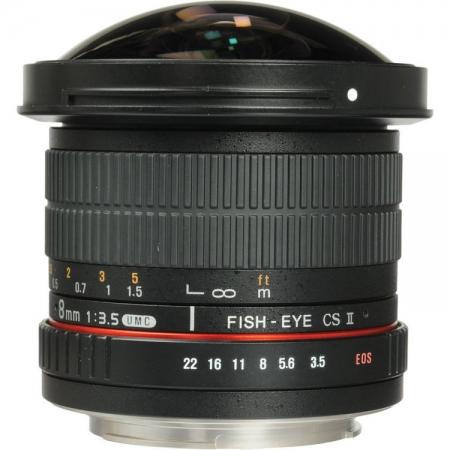 Samyang 8mm F3.5 Nikon HD AE