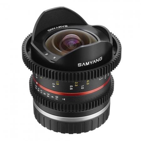 Samyang 8mm T3.1 Fuji X VDSLR