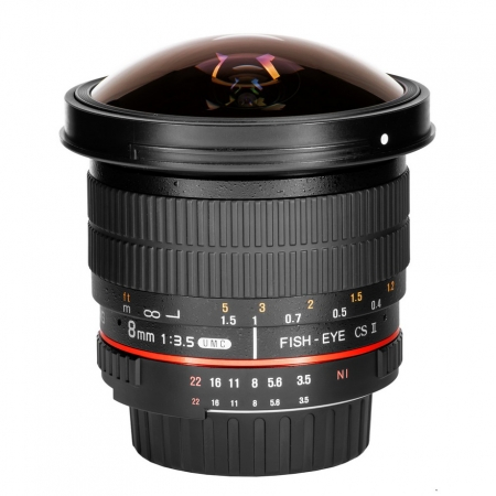 Samyang 8mm f/3.5 UMC Fish-eye CS II Pentax