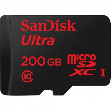 SanDisk Micro SD 200GB Ultra - Android 90MB/s. UHS 3 SDSDQUAN-200G-G4A