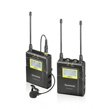 Saramonic UWMIC9 (TX9+RX9) - Linie radio cu microfon lavaliera cu XLR si jack