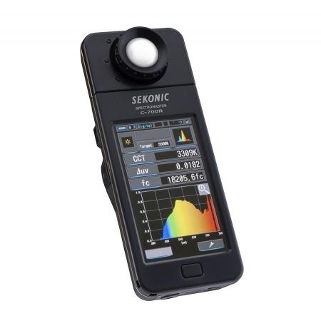 Sekonic C-700R - spectrometru cu modul radio integrat
