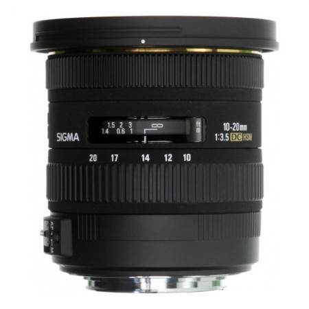 Sigma 10-20mm f/3.5 EX-DC HSM pentru Sony