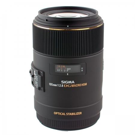 Sigma 105mm f/2.8 Macro 1:1 EX DG OS Canon RS1043556-3