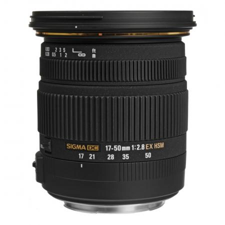 Sigma 17-50mm f/2.8 DC EX HSM pentru Pentax/Samsung