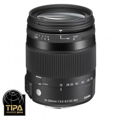 Sigma 18-200mm F3.5-6.3 DC Macro OS HSM Canon EF Contemporary