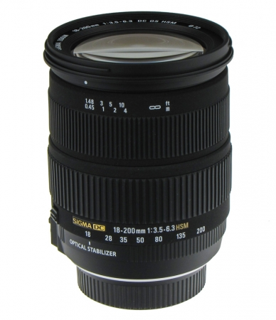 Sigma 18-200mm f/3.5-6.3 DC OS Nikon - RS10106975-2