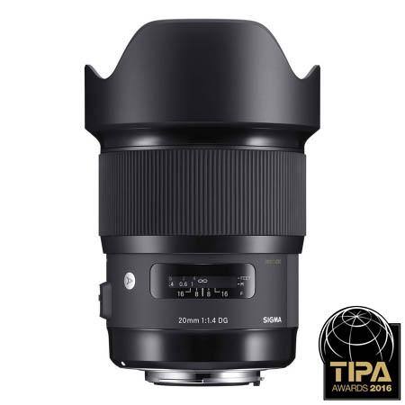 Sigma 20mm f/1.4 DG HSM - montura Canon [A]