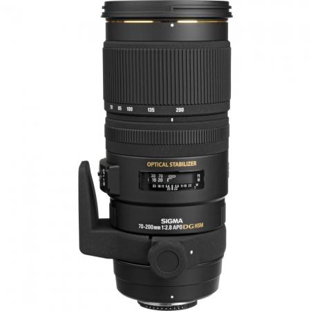 Sigma 70-200mm f/2.8 EX DG OS HSM APO (stabilizare de imagine) - Nikon AF-S FX