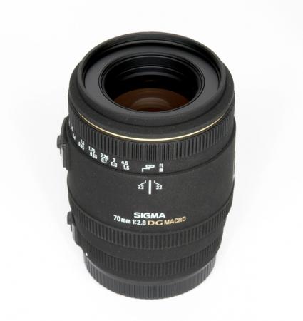 Sigma 70mm f/2.8 Macro EX DG Canon - RS10107468