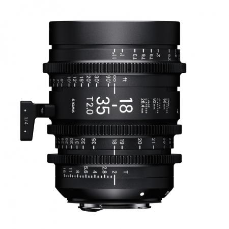 Sigma Cinema 18-35mm T2 E mount