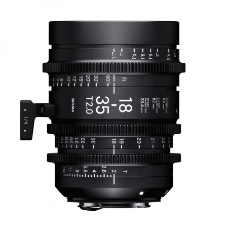 Sigma Cinema 18-35mm T2 EF mount