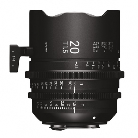 Sigma Cinema 20mm T1.5 - Canon EF
