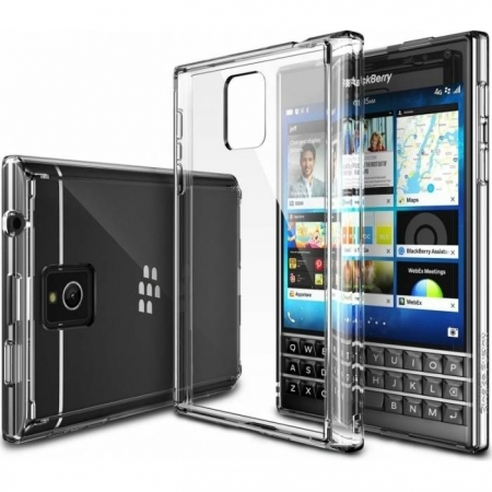 Skin Ringke Fusion Blackberry Passport Crystal View + Folie