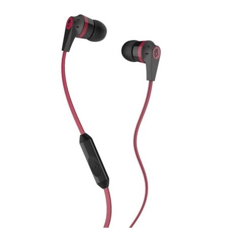 Skullcandy INK'D 2.0 - Casti Audio In Ear Stereo, Rosu