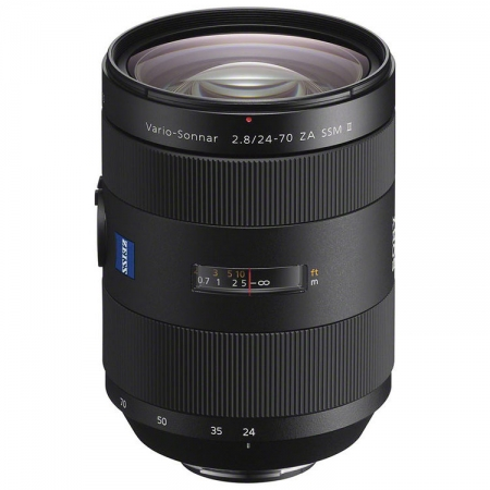 Sony 24-70mm f/2.8 SSM II Carl Zeiss T* ZA Alpha A-Mount