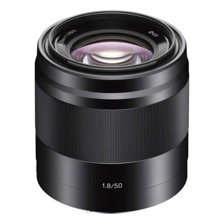 Sony 50mm f/1.8 OSS E-mount negru RS125007312-2