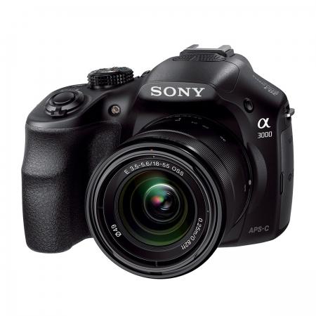 Sony A3000 + SEL18-55 F3.5-5.6 E Mount Wi-Fi/FullHD RS125007308