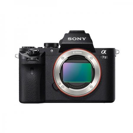Sony A7 II - 24.3Mpx Full Frame, AF hibrid, 5 fps, Wi-Fi si NFC