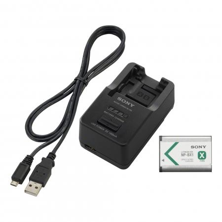 Sony ACC-TRBX - kit incarcator + acumulator