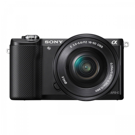 Sony Alpha A5000(ILCE-5000L/B) + SEL16-50mm E-Mount, 20.1MP,WiFi/NFC,FullHD RS125010189-15