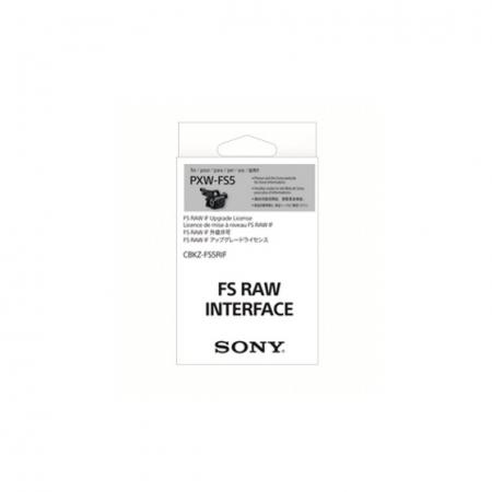 Sony CBKZ-FS5RIF - cod upgrade firmware RAW Sony PXW-FS5