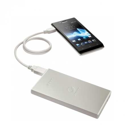 Sony CP-F2LSA alb - acumulator extern 7000mAh pentru smartphone si tableta