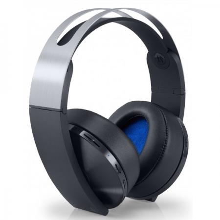 Sony Casti Wireless PS4, Platinium