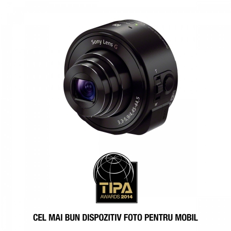 Sony Cyber-shot DSC-QX10 - camera zoom optic 10X pentru smartphone