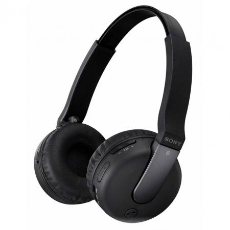 Sony DR-BTN200B - Casti Over Ear Stereo, Bluetooth, cu Microfon - Negru