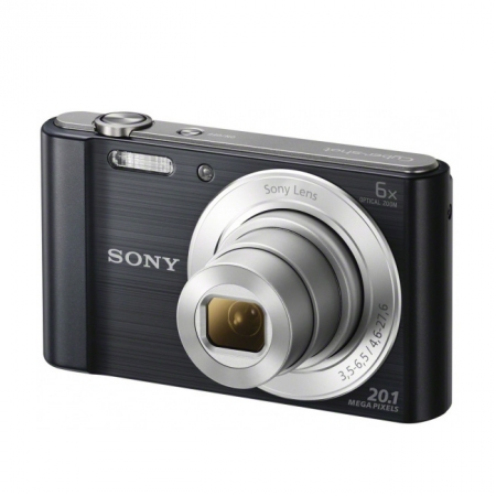 Sony DSC-W810 Negru 20,1 MP, zoom optic 6x, filmare HD 720p, - RS125010194
