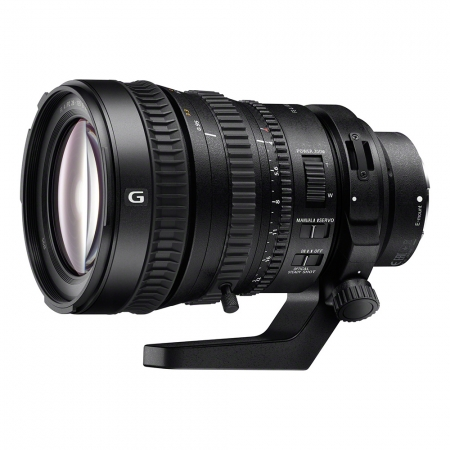 Sony FE PZ 28-135mm f/4 G OSS - obiectiv cinema pe montura Sony FE