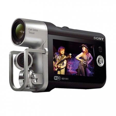 Sony HDR-MV1 - camera video cu sunet PCM liniar, Full HD, Wi-Fi, NFC