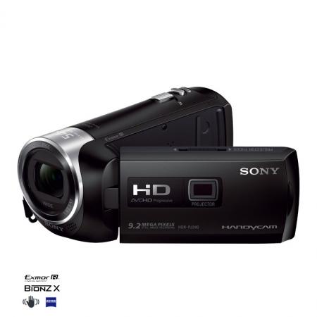 Sony HDR-PJ240 neagra - camera video Full HD cu proiector