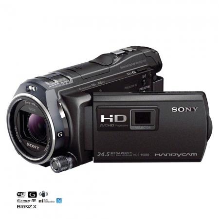 Sony HDR-PJ810 - camera video Full HD, proiector, Wi-Fi, NFC