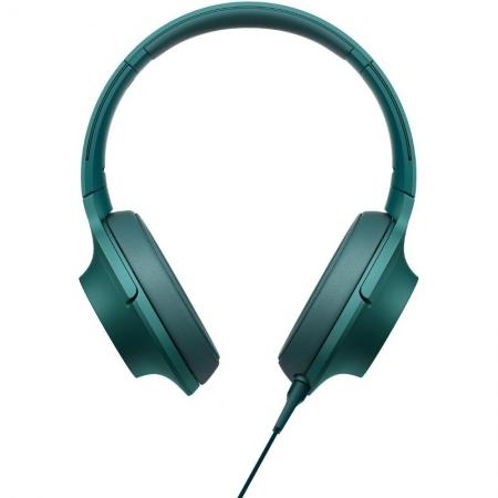 Sony Hi Res MDR-100 - casti audio, albastru