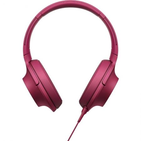 Sony Hi Res MDR-100 - casti audio, roz
