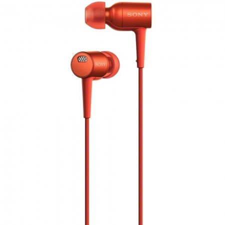 Sony Hi Res MDR-EX750 - casti audio in ear, rosu