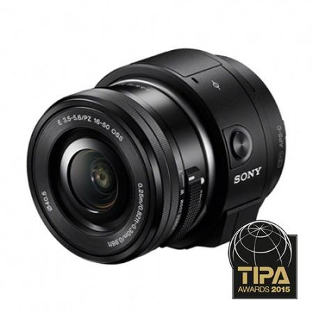 Sony ILCE-QX1 kit cu 16-50mm f/3.5-5.6 OSS negru